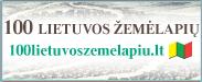 100 Lietuvos žemėlapių